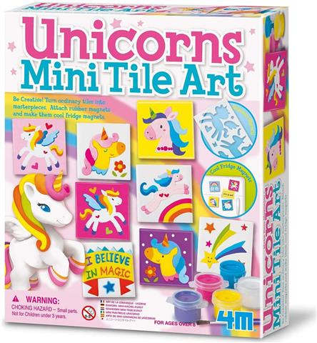 Unicorns Mini Tile Art
