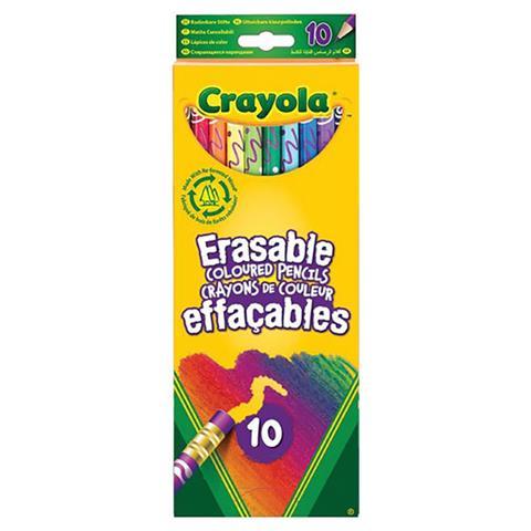 Crayola 10 Erasable Pencils-Cr
