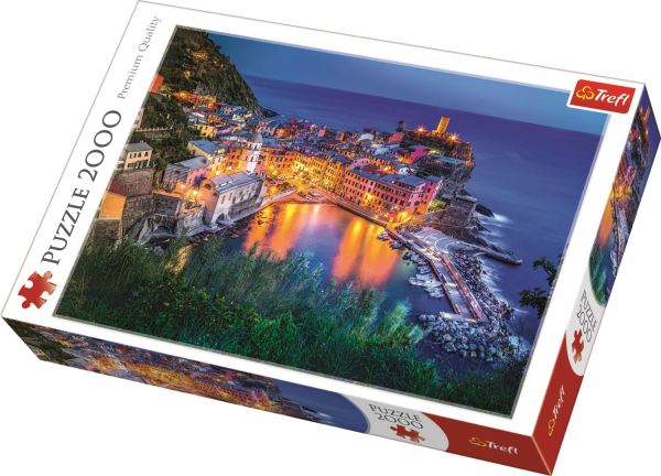 Vernazza At Dusk Trefl Puzzle 27086    (960x680)