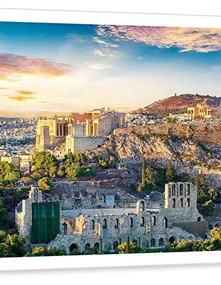 Acropolis Athens Trefl Puzzle Size Panorama 500 660x237 (29503)
