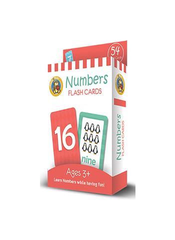 Jumbo Flash Cards Numbers 54 Flash Cards Card Size 14x9 cm11.5 x 16.5 ED-1019