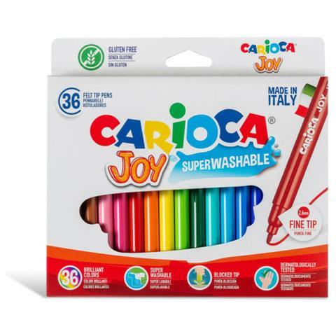 Carioca Superwashable 36 Markers Pennarelli Joy 40616 (9000040616)
