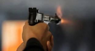 أمين شرطة يطلق النار علي نفسه