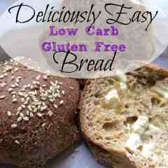 Deliciously Easy Low Carb Gluten Free Bread Rolls ~THM S