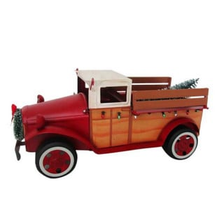 Vintage Red Truck christmas