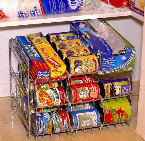 Pantry Organization for cans