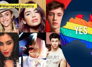 "Australia dijo ""Sí"" al matrimonio igualitario, los famosos se pronuncian al respecto"