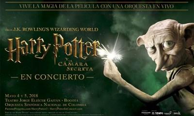 Regresa Harry Potter y la Cámara secreta en concierto a Bogotá