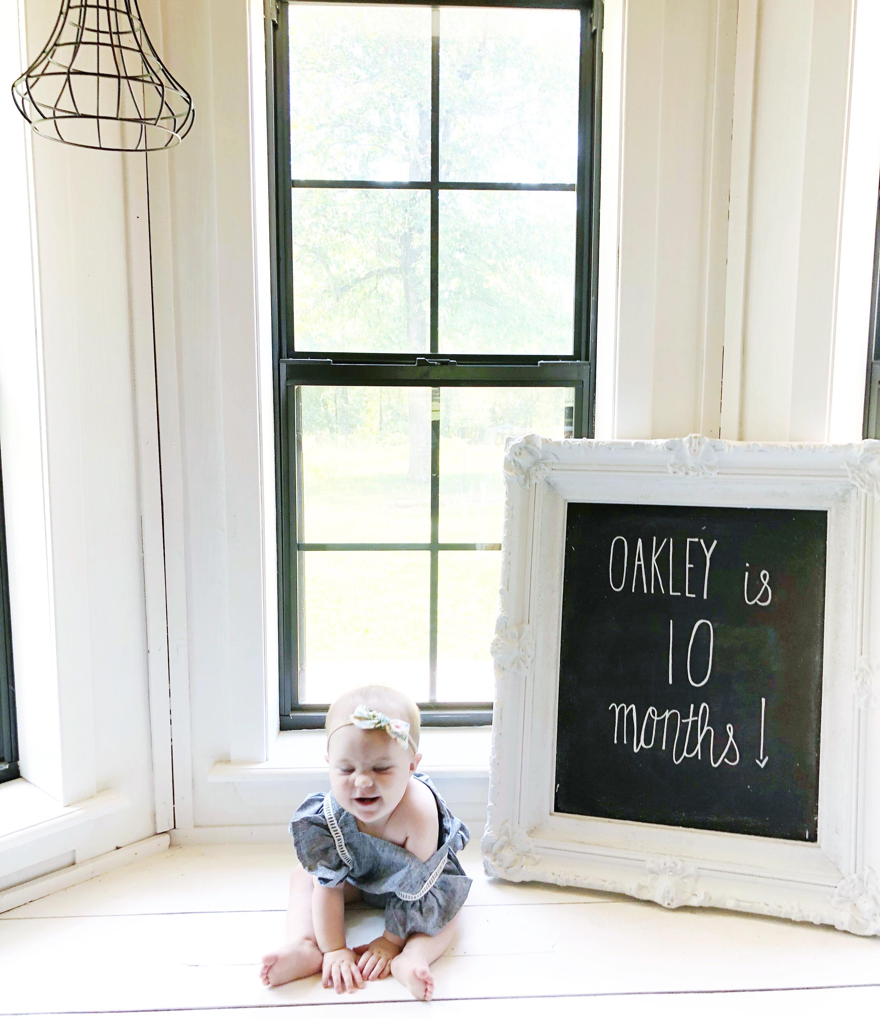 Oakley is 10 months old!