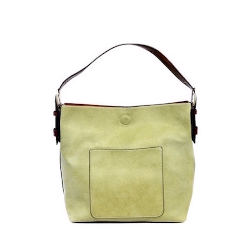 Light Green Hobo Bag by Joy Susan - DRC DIXIE REINHARDT ... 375e8b06eb90