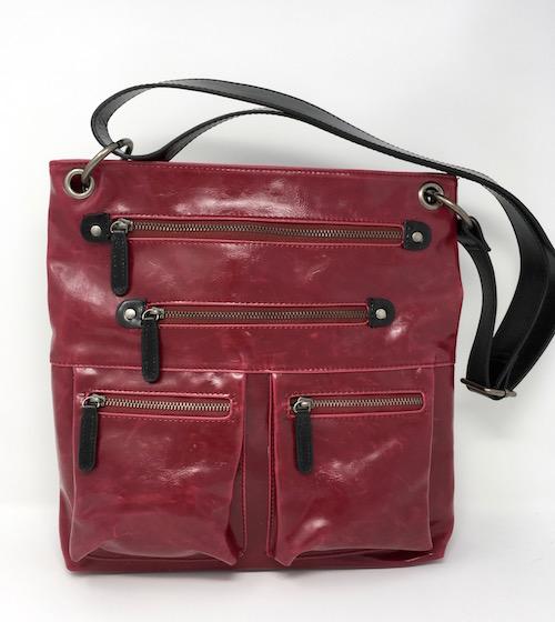 7b3f3af35 Cranberry Organizer Crossbody Bag by Shiraleah - DRC DIXIE ...