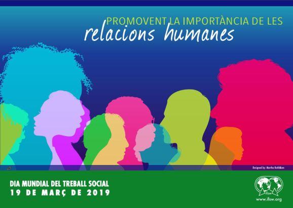 Cartell del Dia Mundial del Treball Social 2019