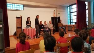 El Casal Cívic Montserrat d'Igualada va organitzar un teatre-fòrum per parlar de racisme amb infants.