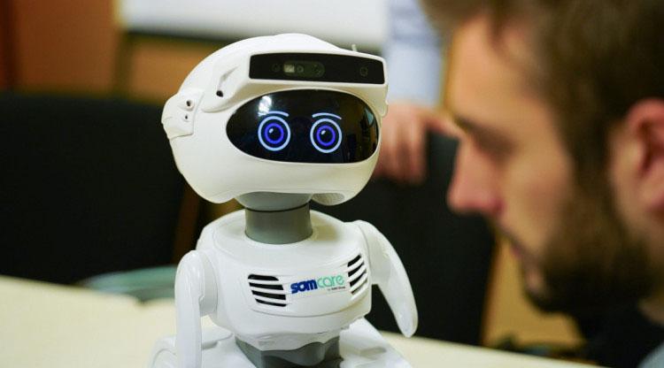 El robot que acompanyarà les persones grans. Ajuntament de Barcelona