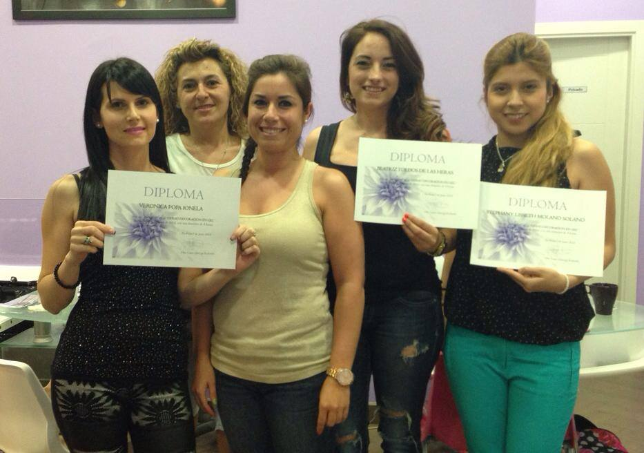 Curso decoración en gel