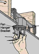 CEILING FAN HANGER BAR  Ceiling Systems