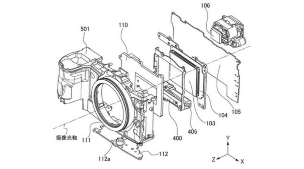 Canon creating even smaller mirrorless cameras, new patent