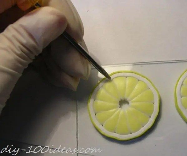 Polymer Clay Citrus Cane tutorial (18)
