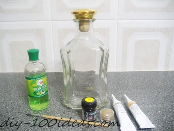 How to Paint on Bottle (2)