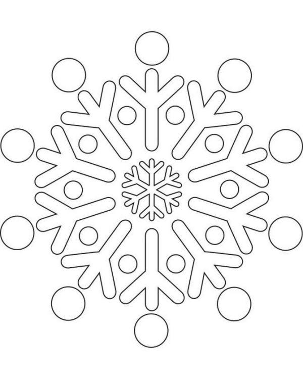 Snowflake stencil (13)