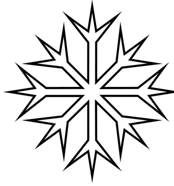 Snowflake stencil (2)