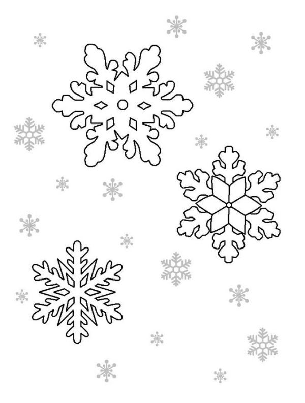 Snowflake stencil (22)