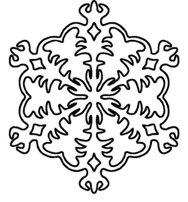 Snowflake stencil (4)