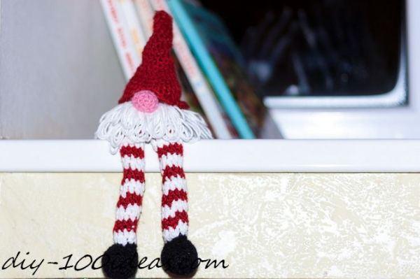 Crochet christmas gnome (2)