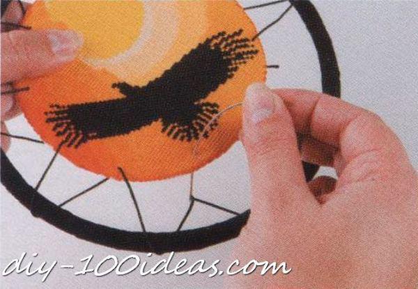 Free cross stitch pattern Dreamcatcher (4)