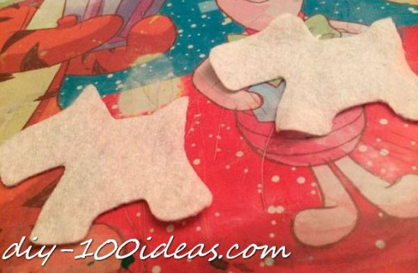 Scottie dog felt brooch (3)