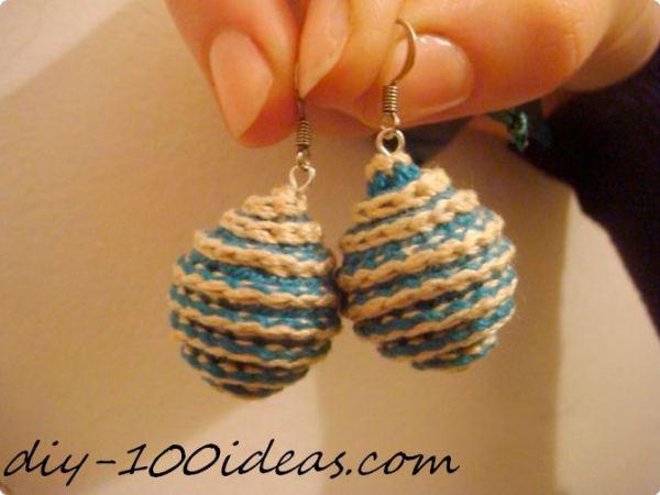 earrings diy ideas (23)