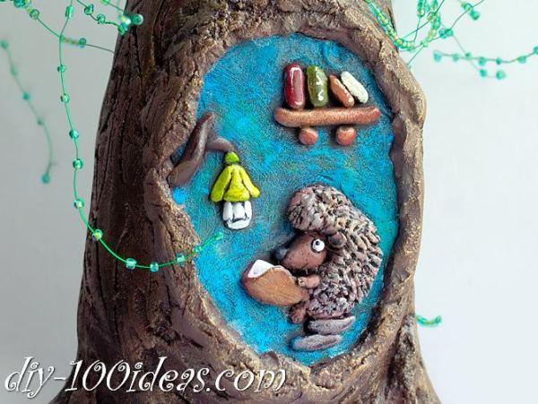 Tree from wine bottle (3)