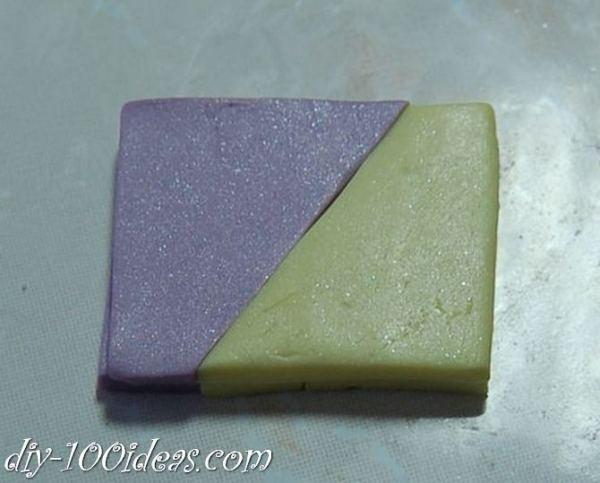 Polymer Clay Flower Petal Cane Tutorial (2)