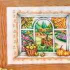 Cross stitch pattern Autumn
