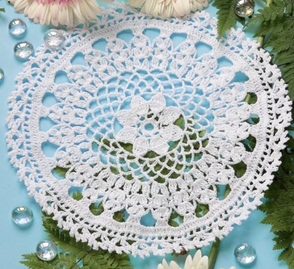 Flower doily (1)