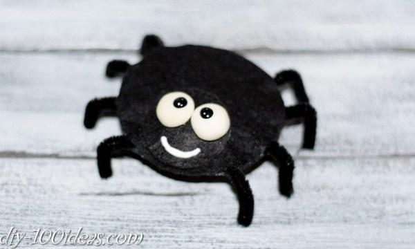 felt spider craft (7)