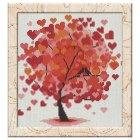 Free Cross Stitch Pattern Heart Tree