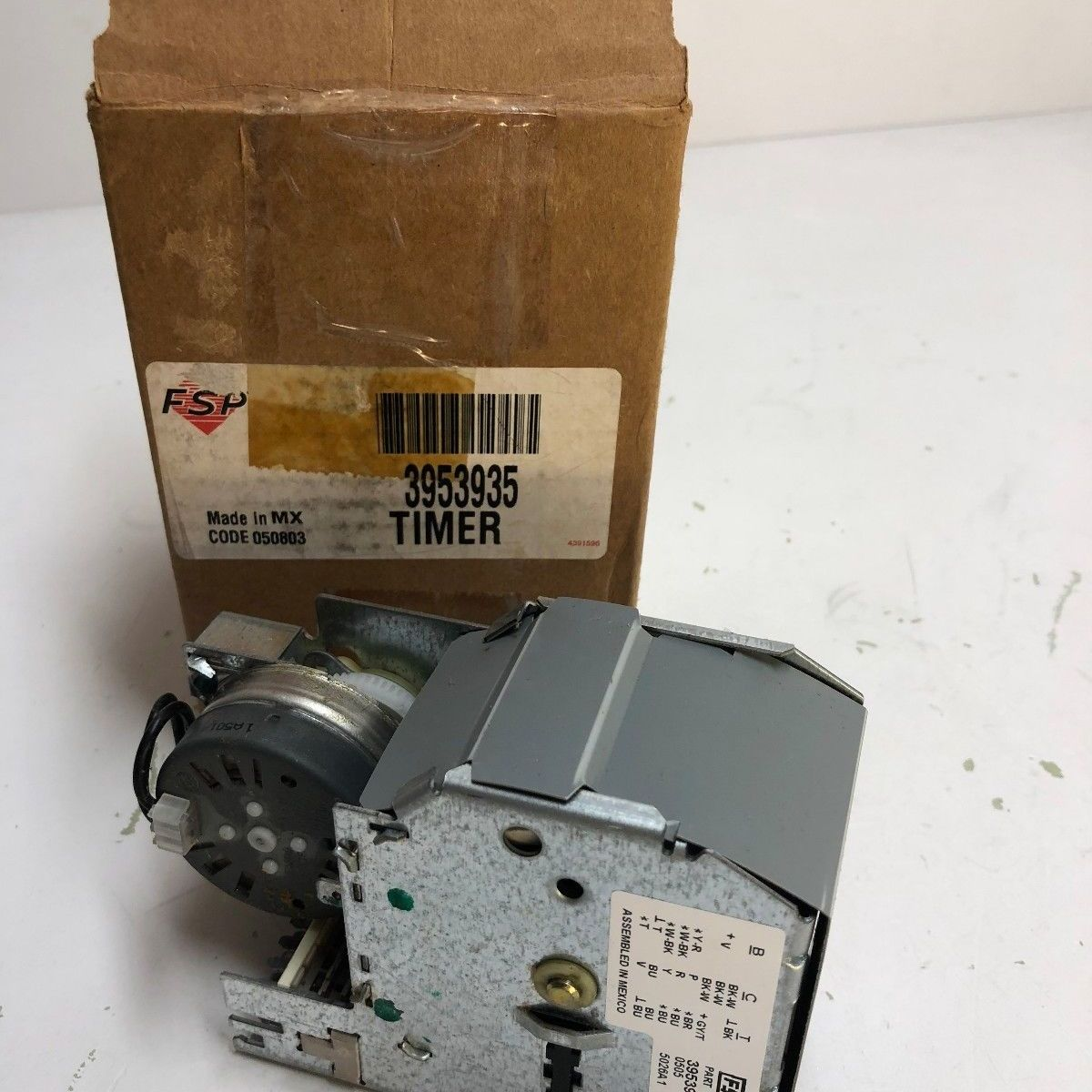 3953935 / WP3953935 WHIRLPOOL WASHER TIMER *NEW PART*