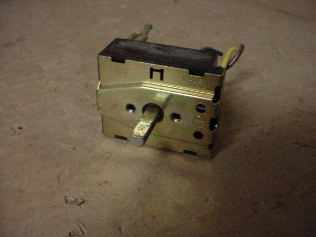 Whirlpool Range Switch Part # 4371629