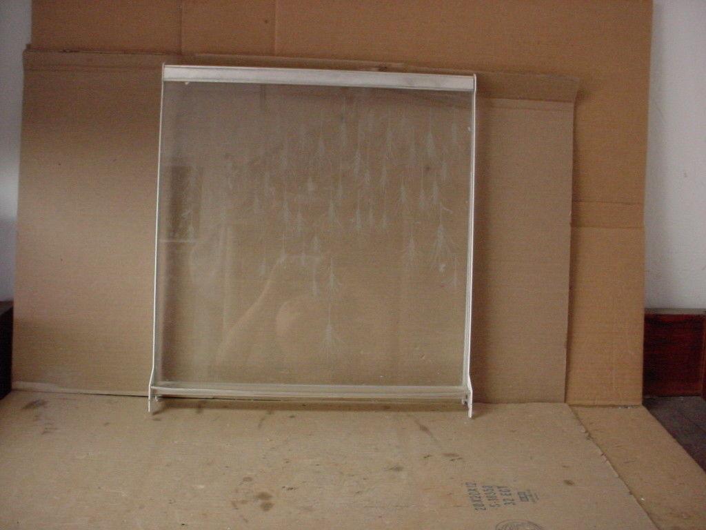 GE Refrigerator Glass Shelf in Frame Part # WR71X1651