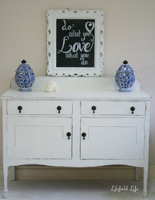 white sideboard by Lilyfield Life