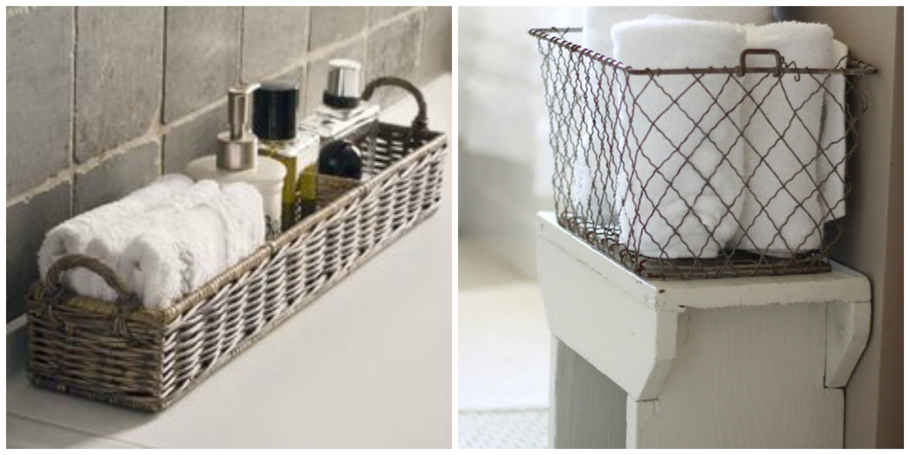 Bathroom Baskets To Get Organised Diy Decorator