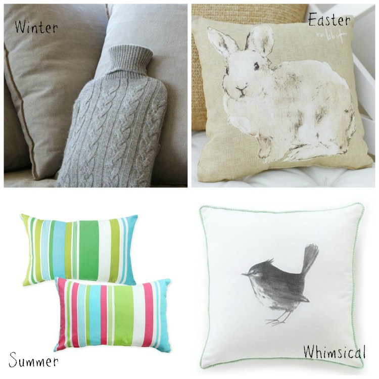 Seasonal Cushion Styling