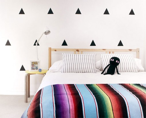 Triangles Wall Decal