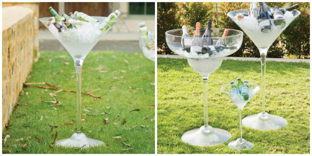 Martini and Margarita Ice Buckets
