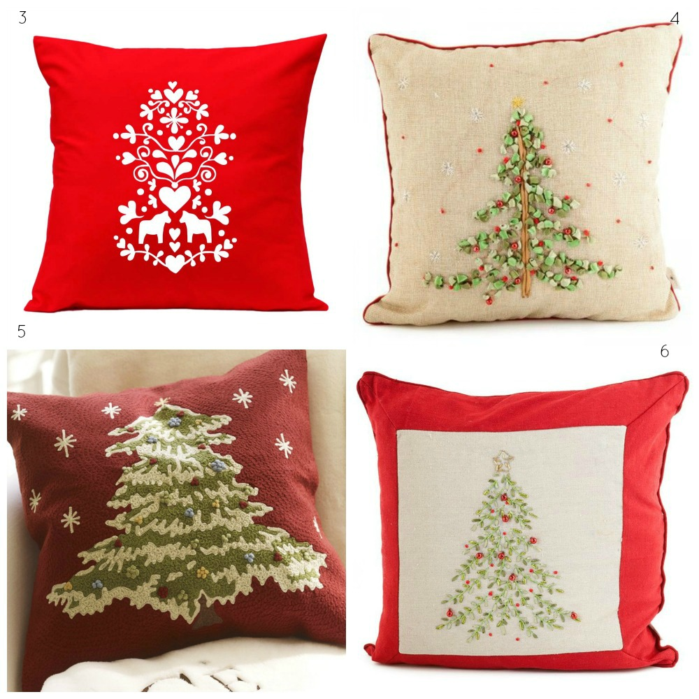 Christmas cushion decor