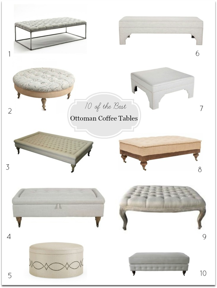 10 best ottoman coffee tables Australia