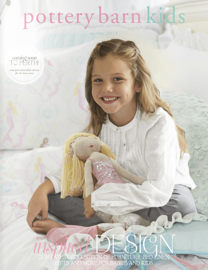 Pottery Barn Kids Winter 2015 Catalogue Cover