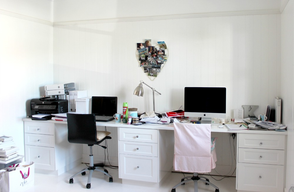 Home Office Makeover before