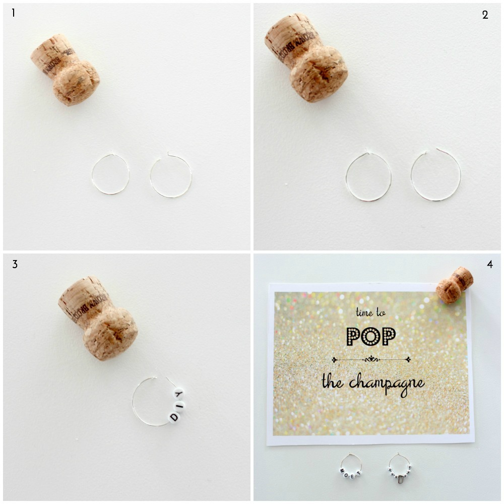 How to make personalised wine charms